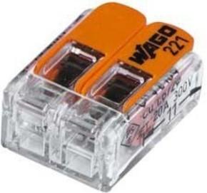 Barthelme Verbindungsklemme 2-polig kompakt 65000012