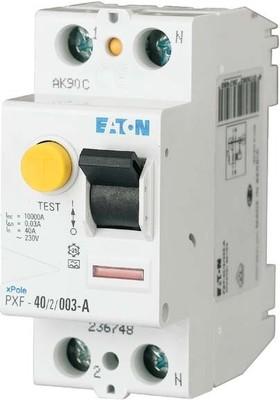 Eaton (Installation) FI-Schutzschalter 16A 2p, 30mA PXF-16/2/003-A