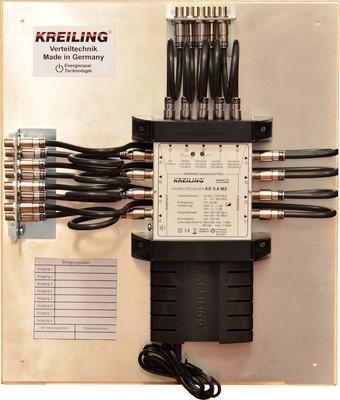 Kreiling Tech. Multischalter m.Erdwinkel montiert,verdrahtet KR 5-8 MKME
