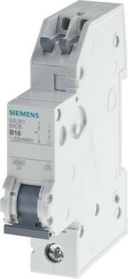 Siemens Indus.Sector LS-Schalter B16A 1pol. T=70 6kA 5SJ6116-6KS