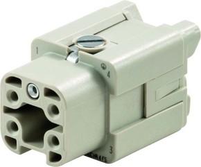 Weidmüller Steckverbinder-Einsatz HDC HA 4 FS
