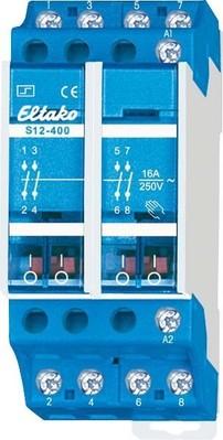 Eltako Stromstoßschalter 4S,16A,230V/AC S12-400-230V