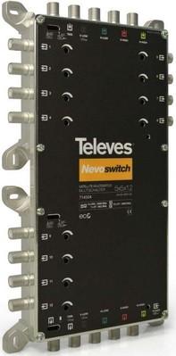 Televes (Preisner) Multischalter 5 in 12 Guß NEVO recpower kask. MS512C