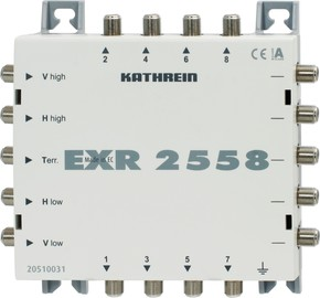 Kathrein Multischalter 5 auf 8 kaskadierb. EXR 2558