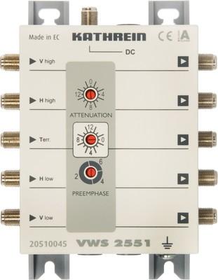Kathrein Multischalter-Verstäker Fernspeisung VWS 2551