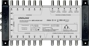 Kreiling Tech. Multischalter 16 Teilnehmer KR 5-16 K-V-II