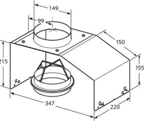 Siemens Großgeräte Montagehilfe für Lüfterbausteine LZ74020