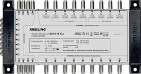 Kreiling Tech. Multischalter kaskadierbar 9 Ein., 16 Teil. KR 9-16 K-II