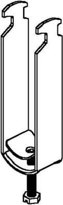 Niedax Bügelschelle 9-12mm B 12/3