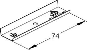 Niedax Stoßstellenverbinder LST 16.016