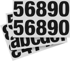 ESYLUX Ziffernsatz Set 1-999, a-f EL100 17 230