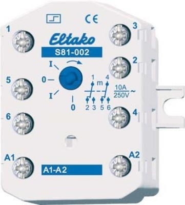 Eltako Stromstoßschalter f.EB/AP 2U 10A S81-002-230V