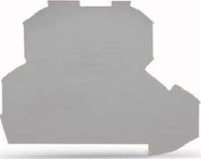 WAGO Kontakttechnik Abschluss-u.Zwischenplatte 0,8mm dick 2002-2291