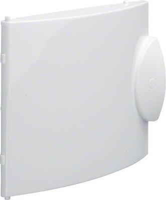 Hager Miniverteiler-Tür, weiß GD104 GP104P