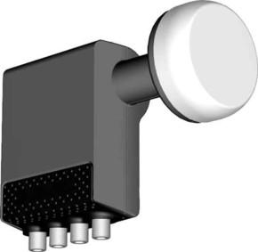 Kreiling Tech. Universal-Quad LNB 0,3dB, 23/40mm KR 4423 WSG