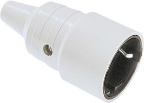 Bachmann Schuko-Kupplung gr,PVC, montierbar 912.971