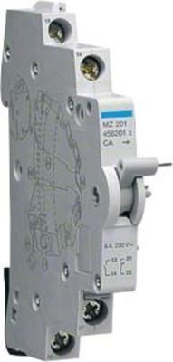 Hager Hilfsschalt. f.LS-Schalter 6A,1S/1Ö MZ201
