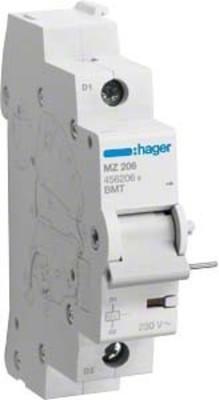 Hager Unterspannungsauslöser f,LS-Schalter MZ206
