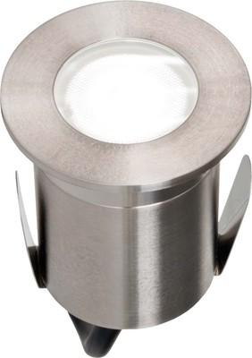 EVN Lichttechnik LED-Bodeneinbauleuchte edelstahl 230V 2W 652 110