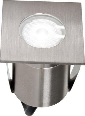EVN Lichttechnik LED-Bodeneinbauleuchte edelstahl 230V 2W 6000K 654 110