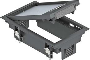 OBO Bettermann Vertr Geräteeinsatz f. Kanalmontage GES2 U 9011