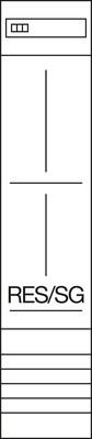 Hager Komplettfeld,univ.Z 1200mm,1feld,1ZP/TRE ZH43X1