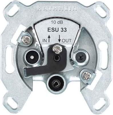 Kathrein Einkabel-Steckdose 3-fach ch Durchgangsdose ESU 33