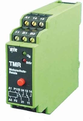 BTR NETCOM Motorschutzrelais m.Fehlerspeicher TMR-E12 mFS 2W 230AC