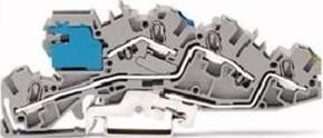 WAGO Kontakttechnik Installations-Etagenklemme NT/L/PE 4/6qmm grau 2005-7641