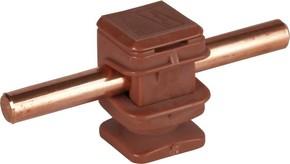 DEHN Leitungshalter braun H 16mm f. Rd 8mm M8 204 017