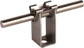 DEHN Leitungshalter NIRO f. Rd 8mm H 32mm 207 029