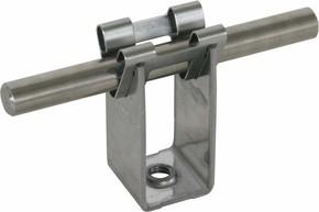 DEHN Leitungshalter NIRO f. Rd 8mm H 32mm 207 039
