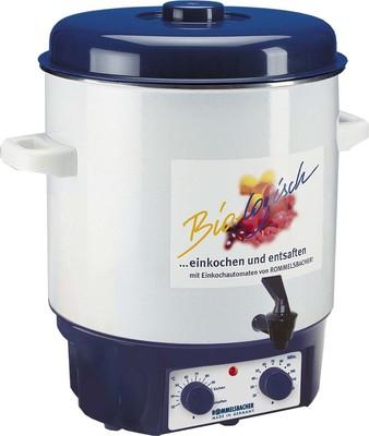 Rommelsbacher Einkochautomat 1800W,+Auslaufh+Uhr KA 1804