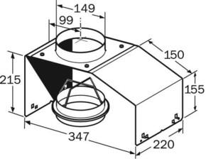 Constructa-Neff Montagehilfe f. Lüfterbausteine Z5552X0