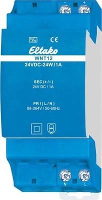 Eltako Weitbereichs-Schaltnetzt. WNT12-12VDC-24W/2A