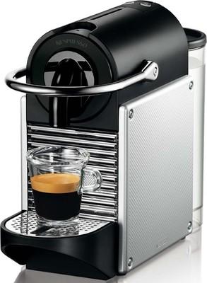 DeLonghi Nespressoautomat Pixie EN 125 S Aluminium