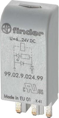 Finder Freilaufdiode 6..220VDC f.Fas. 95.03/05 99.02.3.000.00