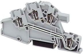 Phoenix Contact Zugfederklemme 0,08-4qmm B=5,2mm gr STI 2,5-L/L