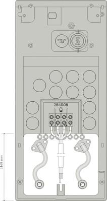 AEG Haustechnik Rohrbausatz Versatzmontage MR 111