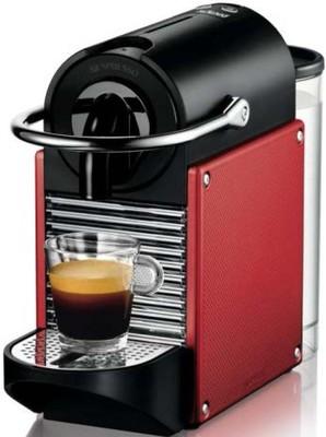DeLonghi Nespressoautomat Pixie EN 125 R Carmine Red