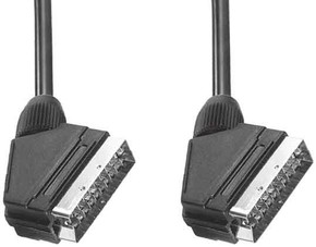 E+P Elektrik Scart-Verbindungskabel VC830U/3Lose