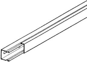 Niedax LS-Minikanal Unterteil+Deckel LLK 16.016 E3