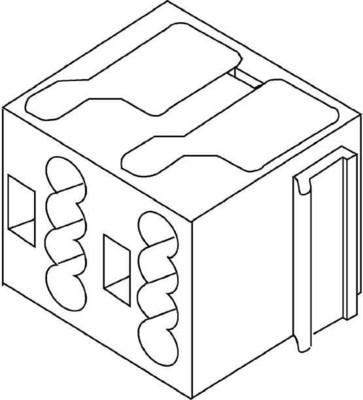 HKL Verbindungsklemme schwarz 1001.8.03