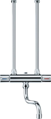 Stiebel Eltron Zweigr.-Küchenwandarmatur Chrom-Oberfläche WKM