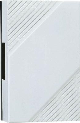 Grothe Zweiklang-Gong weiß 8-12V,85dB,m.Dauert. GONG 169 DKw