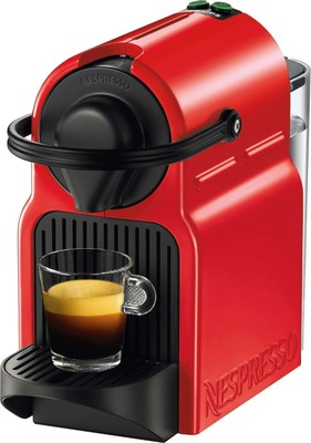 Krups Nespressoautomat Inissia XN 1005 Ruby Red
