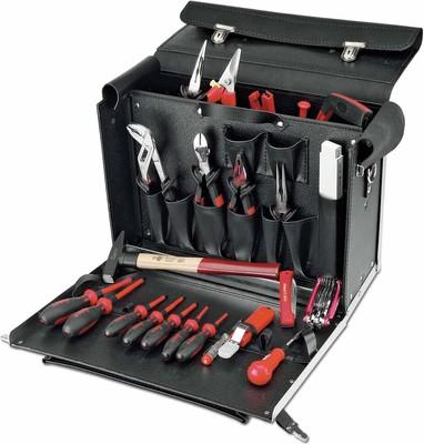 Cimco Werkzeugkoffer -Monteur m.25 Werkzeugen 17 6350
