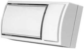 Grothe Klingeltaster AP 32x90x18,5mm, weiß MONTILUX 2154