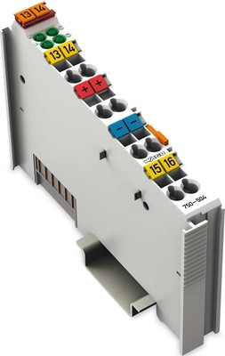 WAGO Kontakttechnik Digitale Ausgangsklemme 4DO 24VDC 0.5A 750-504