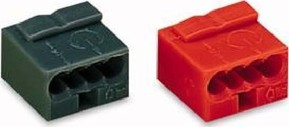 WAGO Kontakttechnik Verb.dosenklemme rt 4x0,6-0,8mm 243-804